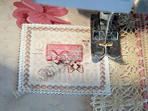 Обложка на паспорт скрапбукинг