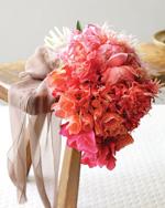 Яркие свадебные букеты фото